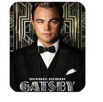 El gran Gatsby Leonardo DiCaprio Tobey Maguire alfombrilla de ratón, PC portátil Gaming Mice alfombra
