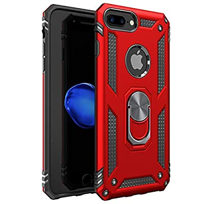 iPhone 7 Plus Case | iPhone 8 Plus Case [ Military Grade ] 15ft. Drop Tested Protective Case | Kickstand | Compatible with Apple iPhone 8Plus / iPhone 7 Plus Case