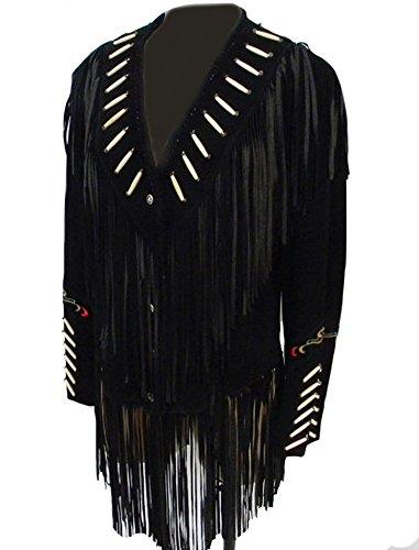 Black Classyak Noir Femme Suede Manteau wqSRxIpFqz
