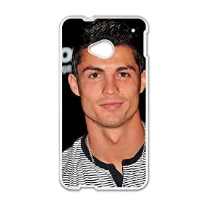 Cristiano Ronaldo HTC One M7 Cell Phone Case White LMS3902256