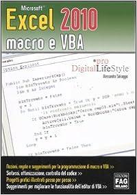 Microsoft Excel 2010 macro e VBA