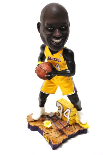 Limited Edition Shaq Oneal #34 LA LAKERS HM JERSEY action Limited Edition Bobble head ()