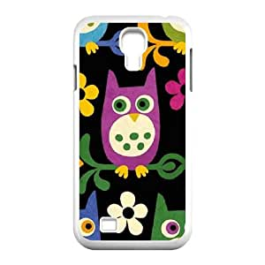Owls on Branches Samsung Galaxy S4 9500 Cell Phone Case White DIY present pjz003_6355062