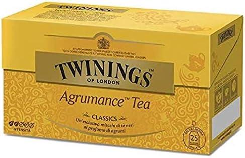 Twinings Tè Clásico - Agrumance - Mezclas Clásicas, Creadas por Master Blenders, que han hecho del Té la Bebida Inglesa y Twinings, la Marca más Famosa del Mundo (50 Bolsas): Amazon.es: Alimentación