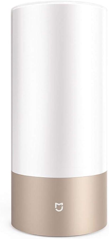 Xiaomi - MJCTD01YL - Xiaomi Mijia Lámpara De Mesa Yeeeligth 10W - Color - Temperatura Regulable - Bluetooth WiFi App Control - Oro