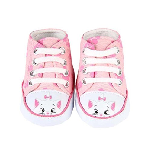 Disney chat-zapatillas para niña, color rosa
