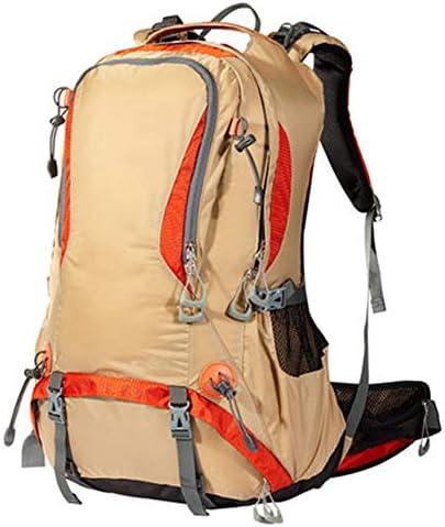 40Lレディースアウトドアハイキングバックパック、 ナイロン、 ロッククライミング/旅行,yellow