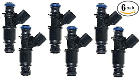 Genuine Delphi Set Of 6 Fuel Injectors For Pontiac Buick Chevy 3.4L 3.1