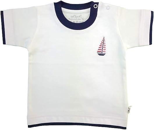 Ebi & Ebi - Camiseta para bebé (algodón bio), color blanco: Amazon.es: Ropa y accesorios