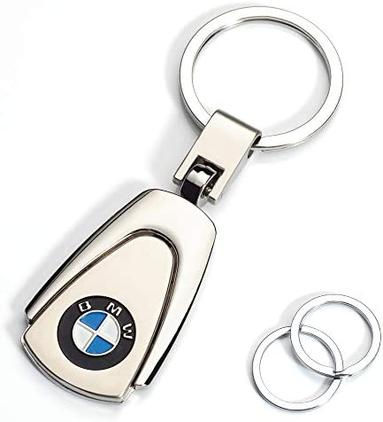 JIYUE Compatible for BMW Keychains Car Logo Key Chain Key Ring AccessoriesSuit for BMW 1 3 5 6 Series X5 X6 Z4 X1 X3 X7 7 Series Gift Present for Men and Woman (1pcs)\u2026