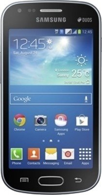 Samsung Galaxy S Duos II S7582 DUAL SIM Factory Unlocked International Version - Black (Sim Duo Galaxy Samsung)