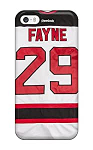 Hot WsYBkfB4017slous Case Cover Protector For iphone 5c- New Jersey Devils (1)