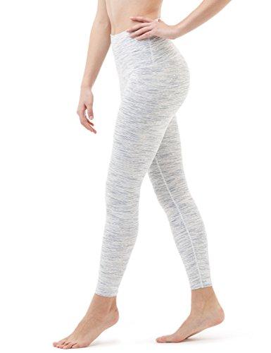 Tesla CLSL TM-FYP52-SDW_Medium Yoga Pants High-Waist Tummy Control w Hidden