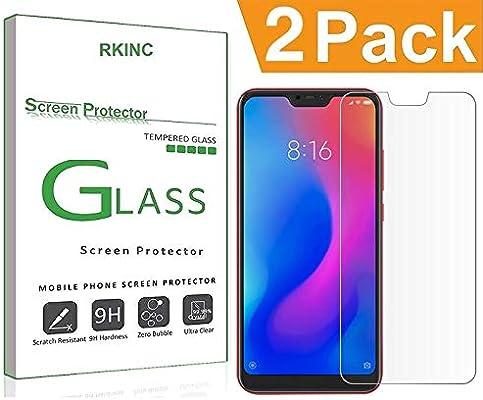 RKINC for Redmi 6 Pro/Mi A2 Lite Screen Protector, [2 Pack