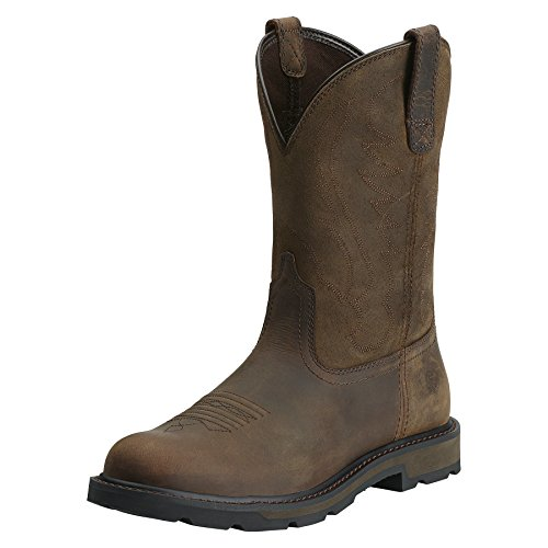 UPC 884849752562, Ariat Men's Groundbreaker Pull-On Work Boot, Brown/Brown, 7 M US