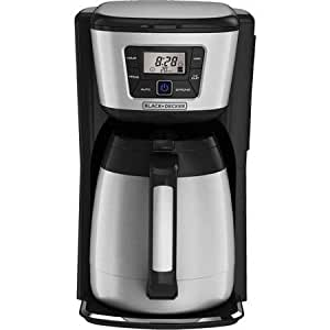 Amazon.com: 12-Cup, Double-Walled And Vacuumed-Sealed, Programmable Coffee Maker with Thermal ...