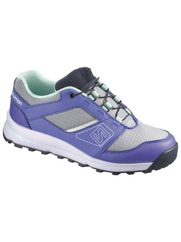 Salomon Outban - Chaussures Enfant - gris/violet Modèle 33 2014 chaussures de montagne