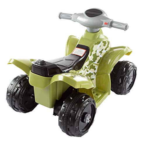 411zIVyykNL - Lil' RiderRide-On Toy ATV -Battery Operated Electric 4-Wheeler for Toddlers with Included Battery Charger and Push Button Start (Green Camo)