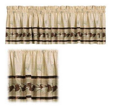 Saturday Knight Pinehaven Window Curtain Valance, 58