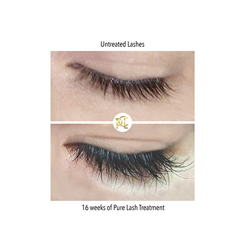 Eyelash Growth Serum Eyebrow Enhancer 3ml Advanced Formula Myristoyl Pentapeptide 17 Grows Longer Fuller Thicker Lashes Brows In 60 Days Prevents Breakage FDA Approved