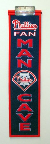(Winning Streak MLB Philadelphia Phillies Man Cave Banner)