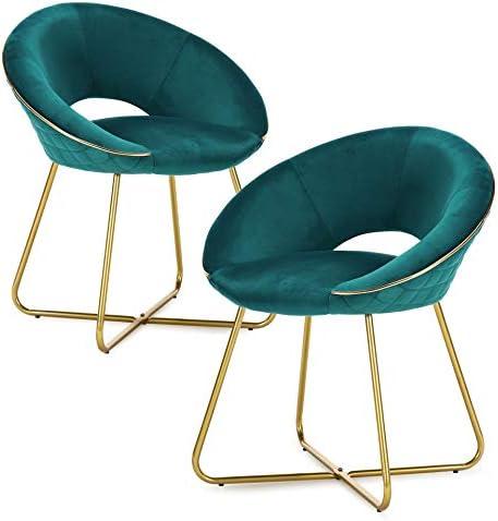 Modern Accent Velvet Chair - the best living room chair for the money