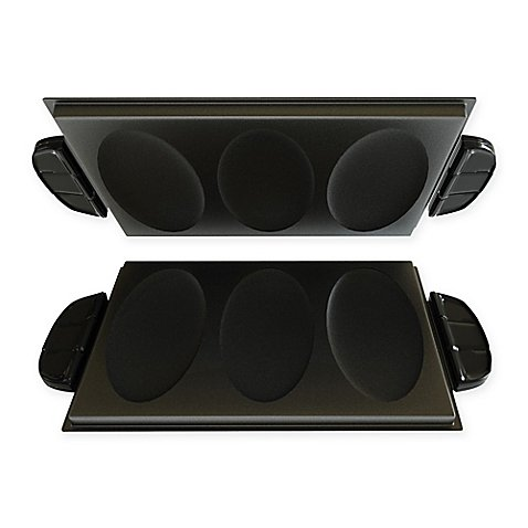 George Foreman Evolve Grill Omelet & Snack Plates (Set of 2)