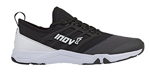 Inov-8 F-Train 240 - Ultimate High Intensity Interval Training Shoes - Functional Training Shoe for HITT and Gym Workouts - Black/Grey M5/ W6.5