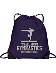 Custom Gymnastics Drawstring: Port & Company Drawstring Bag