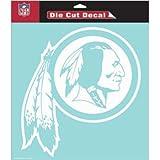 NFL Washington Redskins WCR25667061 Perfect Cut Decals, 8″ x 8″