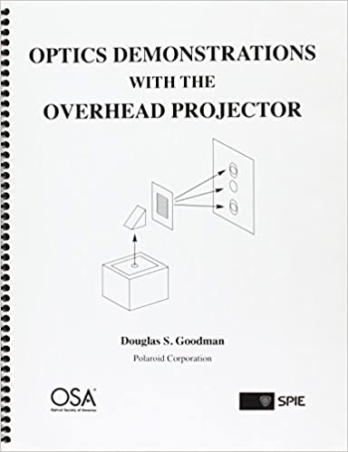 Optics Demonstrations With The Overhead Projector Douglas S