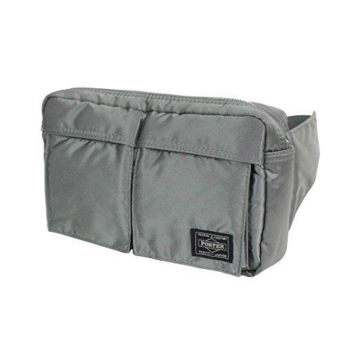 Yoshida Bag Porter Tanker Waist Bag 622-08723 Silver for sale  Delivered anywhere in USA
