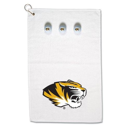 Missouri Tigers Official NCAA Standard Golf Towel Balls Gift Set by McArthur by McArthur