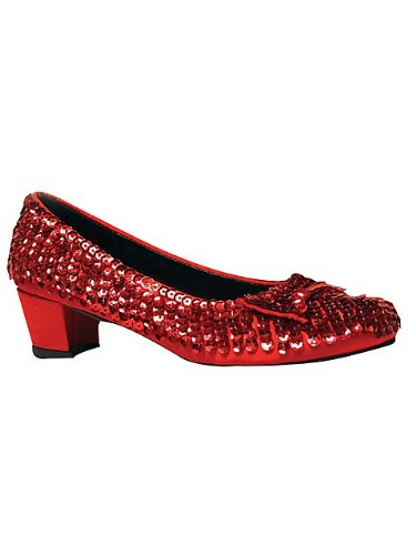 Judy Shoes (Judy Girls Red Sequin 1.5