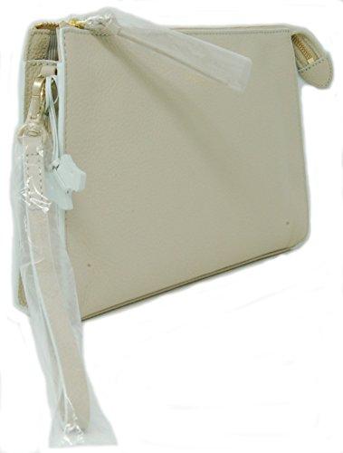 with Bag Zip Strap Medium Radley Wrist in 'Bourton' Top Clutch Natural qO4xBwY