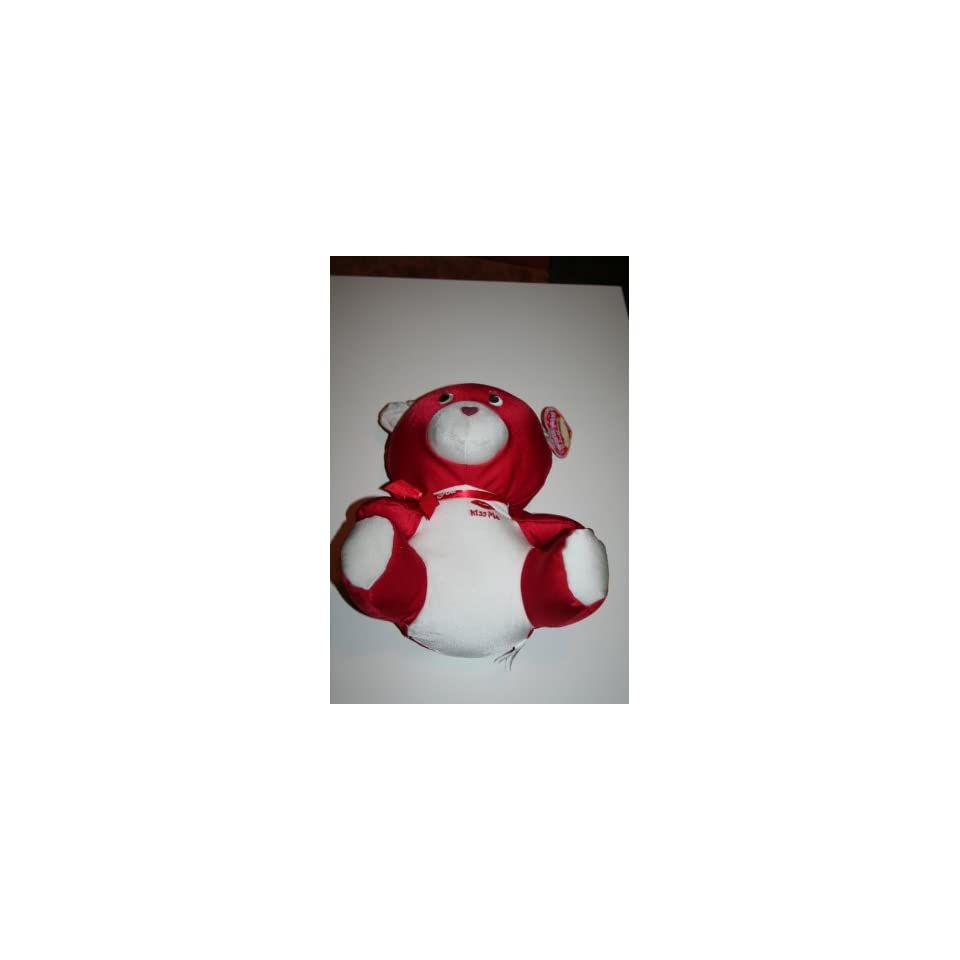 Red Valentines Teddy Bear Spandex Plush Stuffed Animal