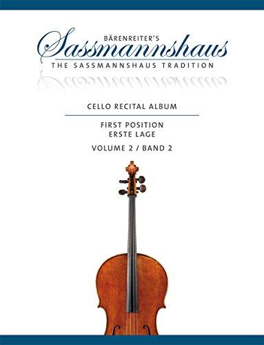 Cello Recital Album - Volume 2 (Album Recital)