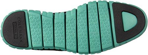 Cole Haan Mannen Zerogrand Stitchlite Oxford Zwart / Pool Groen