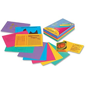 Array Bond Paper, 8.5 x 11 Inches, Designer Colors, 500 Sheets (101346)