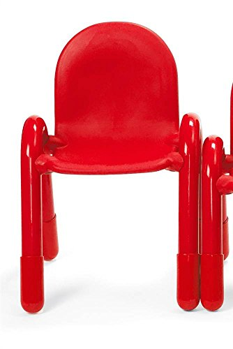 Angeles 11 in Baseline Child Chair in Candy Apple Red - Baseline Chair Angeles