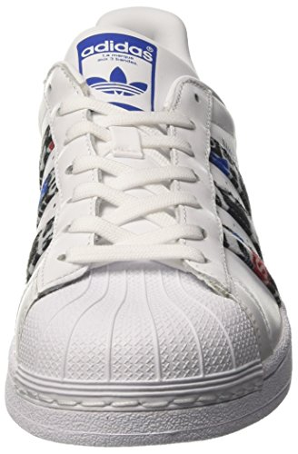 Uomo Footwear Black da Ginnastica Blue White Superstar Core Basse Bianco Scarpe adidas qpXx6fw7x