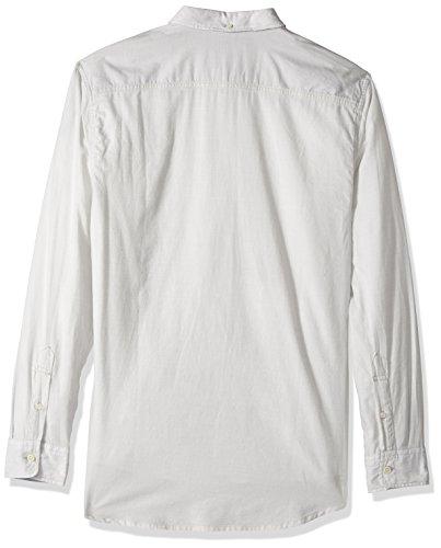 Quiksilver Men's Waterfalls Long Sleeve Shirt, Micro Chip, Medium by Quiksilver (Image #2)