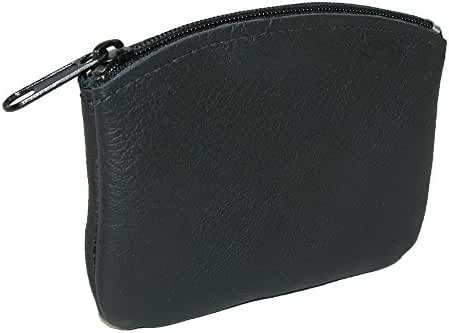CTM Leather Credit Card Pouch and Coin Holder