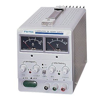 GW Instek GPS-3030D High-Current, Single-Output DC Power Supply, 0 to 30 VDC, 0 to 3 A