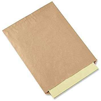 A1BakerySupplies® Premium Quality Kraft Paper Bags Flat Merchandise Bags Made in USA 100pack...