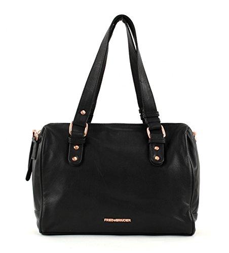 FREDsBRUDER Signature Identity Bag Black/Rose Gold