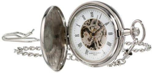 - Charles-Hubert, Paris Two-Tone Mechanical Pocket Watch
