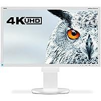 NEC MultiSync EA275UHD IPS 27 White 4K Ultra HD - computer monitors
