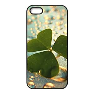 Four Leaf Clover Water Drop Fashion Personalized Phone Case For Iphone 6 plus 5.5