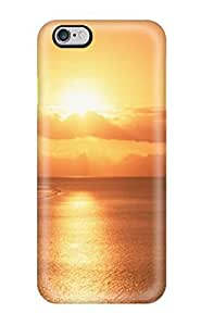 For Iphone Case, High Quality Landscape Sunset For Iphone 6 Plus Cover Cases